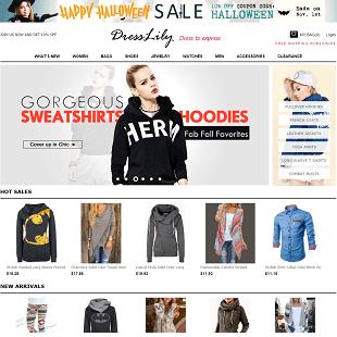 dresslily online shopping site