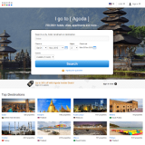 Agoda.com homepage banner
