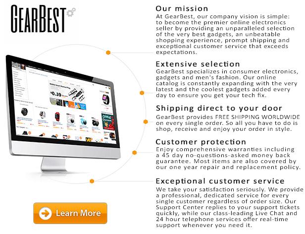 GearBest.com - Best online gadget and electronics deals