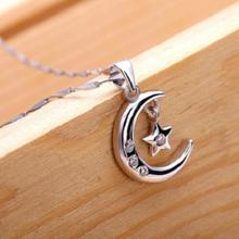 Zundiao - Sterling Silver Moon Pendant