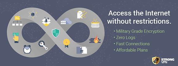 StrongVPN.com - Providing high speed VPN accounts since 1995