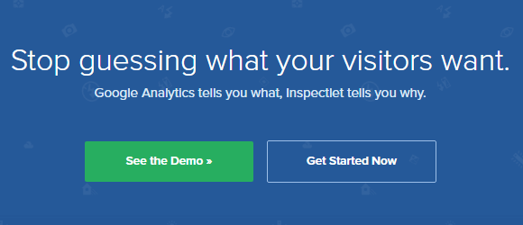 Inspectlet Review - understand your website visitors' intentions with smarter web analytics.