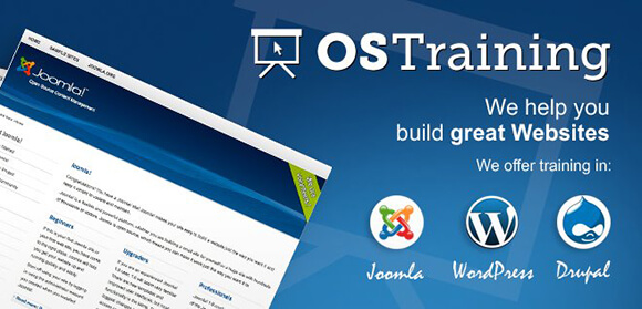 OsTraining.com - Web design training, WordPress, Joomla, HTML and more