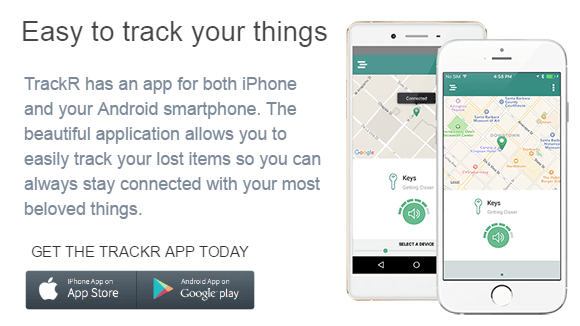 TheTrackR.co - Track your phone, wallets, keys & anything else with TrackR