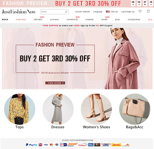 justfashionnow review banner