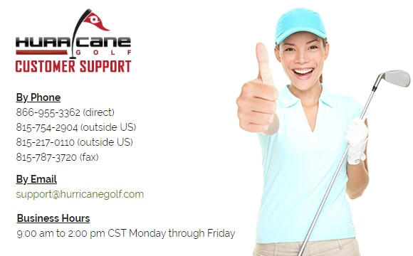 hurricanegolf.com - Buy golf clubs, accessories and apparel online